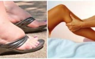 Отекают голени ног причина